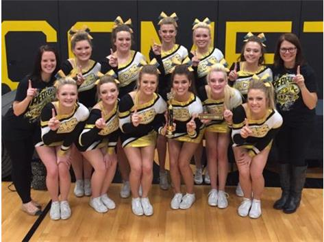 RCHS Cheer- 3 time I-8 Champions