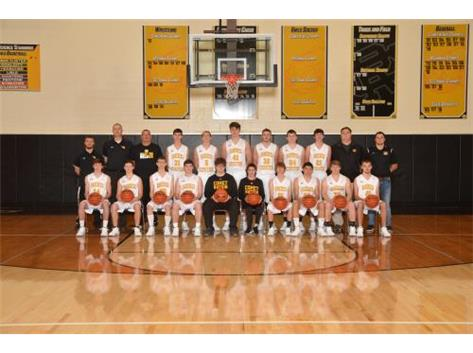Reed-Custer Boys Varsity Basketball 19-20