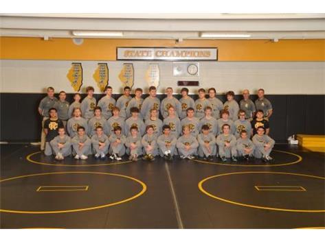 Reed-Custer Wrestling 19-20
