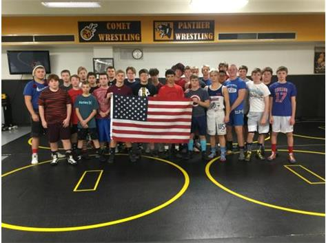 1st Day of practice was on Vetereans day.  Go Red, White & Blue.  Thanks for our Freedoms