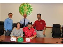 Senior, Joseph Uvelli Signs His National Letter of Intent to Play Baseball at Purdue University.