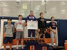 River Kowal placed 4th at the Stagg invitational.