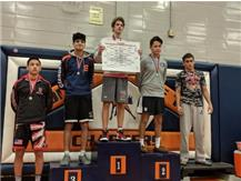Gianni Ruiz placed 4th at the Stagg invitational.