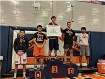 Azael Martinez placed 3rd at the Stagg invitational