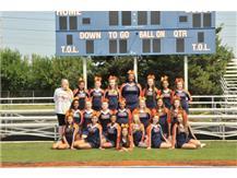 JV Cheerleading - football