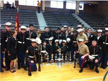 JROTC Drill Team  Celebrates 1st Place Overall at Michigan City