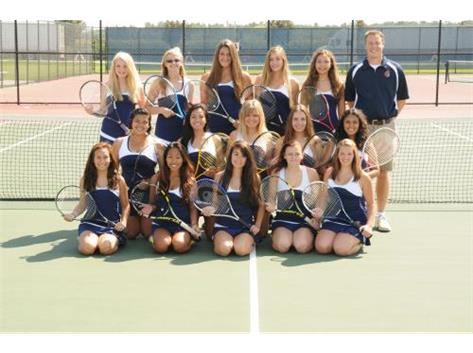 Varsity Girls Tennis 2014