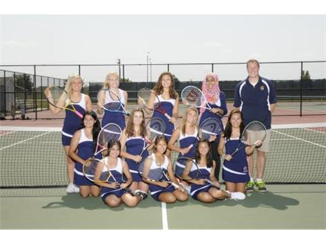 GIRLS VARSITY TENNIS 2015