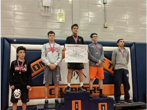 Kaleb Zeffield placed 2nd at the Stagg invitational.