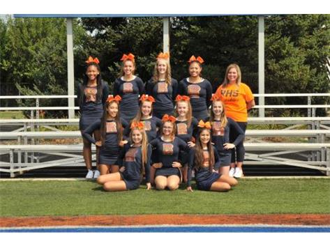 Varsity Cheerleading - football
