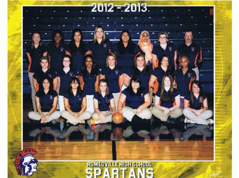 2012-13 Girls Bowling Team