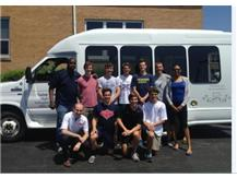 Boys Track State Qualifiers Sendoff Photo