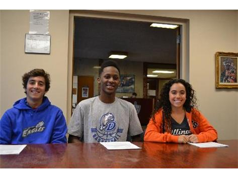November Signing Day Ceremony 2013.