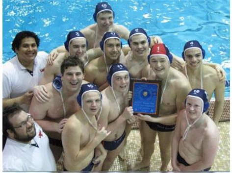Boys Varsity Water Polo 2014 Evanston Tournament Champions