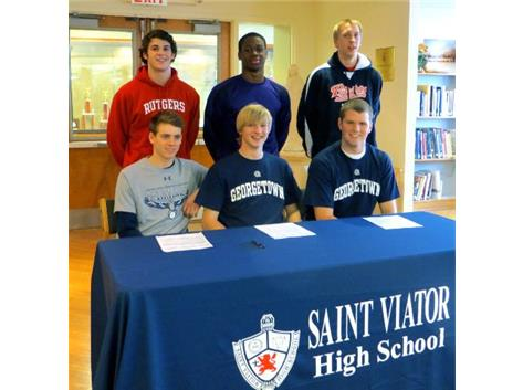 Saint Viator Athletics Signing Day Ceremony