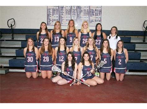 2013 Girls Varsity Lacrosse