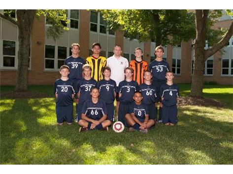 2013 Boys Sophomore Soccer Team