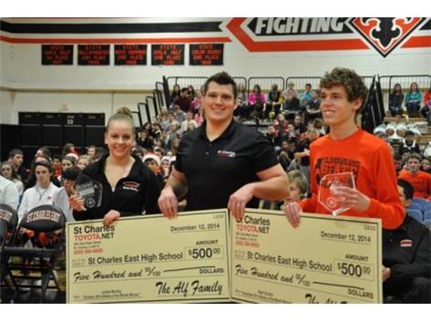 KCC ATHLETE OF THE MONTH WINNERS JORDAN MORLING & MARK SCIURBA