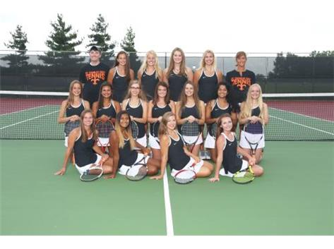 2017-18 GIRLS VARSITY TENNIS