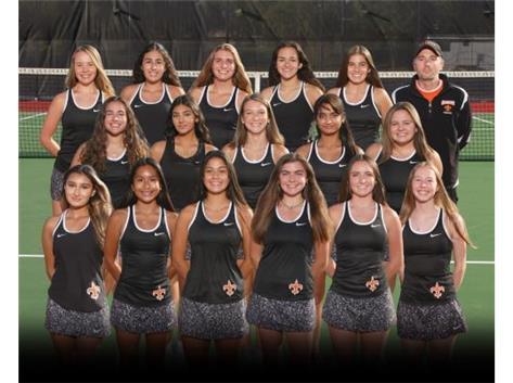 2020-2021 Varsity Tennis