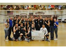 Congratulations to North Star Boys Volleyball on being the UEC River Division Conference Champions