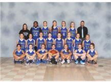 2016-2017 Freshmen Girls Basketball Team
