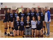 Congratulations to the JV Girls Volleyball team on winning the Prairie Ridge Volleyball Invite