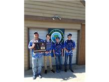 Sectional Champions Bass Fishing boat #1