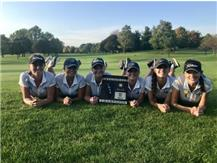 Congrats to the Girls Golf team on winning the 2018 Regional Golf Championship