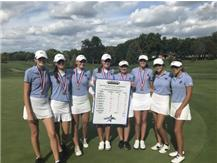 Congratulations to Girls Golf on winning their 5th consecutive Regional Golf title