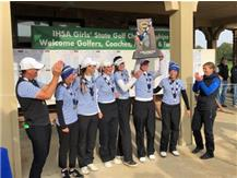 Girls Golf wins the IHSA State Golf Championship.  Congratulations Girls