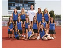 2021 Girls Varsity Tennis Team