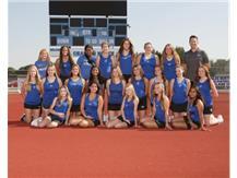 2021 Girls JV Tennis Team