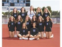 2021 JV Girls Volleyball Team
