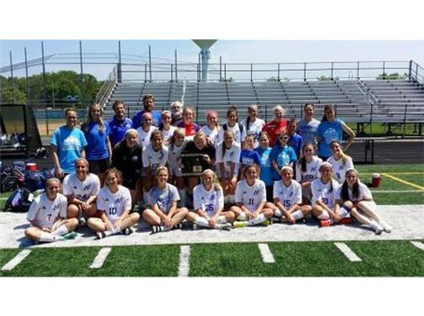 Congratulations to the Varsity Girls Soccer Team on their 2015 REGIONAL CHAMPIONSHIP -- An astounding 13 straight Regional Championships