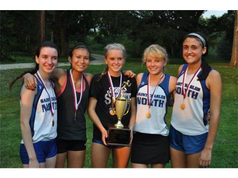 Congratulations to the North Star Girls XC team on their outstanding performance at the ECC cross country invite