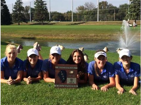 Congratulations to the North Stars Girls Golf team on their Regional Championship