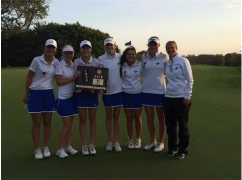 Congratulations to the North Star Girls Golf team on their 2015 Sectional Championship