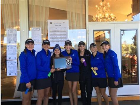 Girls Golf UEC Champions 2016