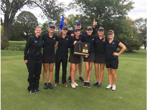 Congratulations to the North Star's girls golf team on winning their second straight IHSA Sectional Championship!