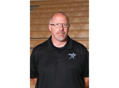 Head Boys Cross Country and Track and Field Coach Kevin Harrington