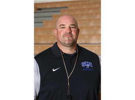 Freshman Football Asst. Coach Chip McPheeters
