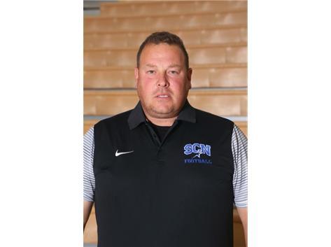 Sophomore Asst. Football Coach Pat Shannon