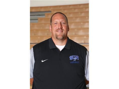 Sophomore Football Asst. Coach Jared McCall