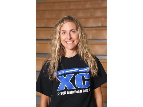 Girls Cross Country Asst. Coach Anne McPeak