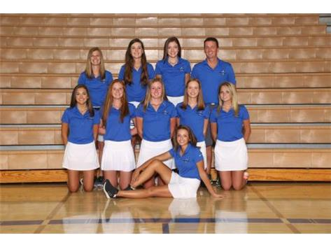 2017 Girls Varsity Golf Team