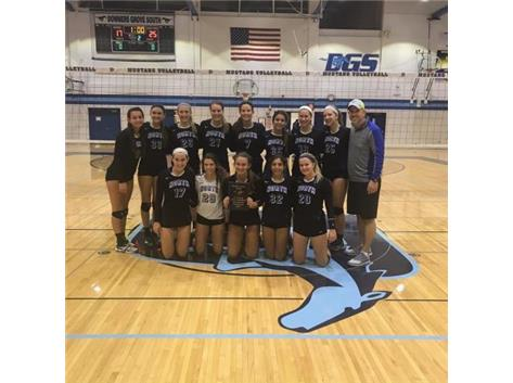 Congratulations to the JV Girls Volleyball team on winning the DGS Invite