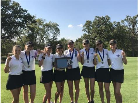 Congratulations to the North Star Girls Golf team on winning the 2017 UEC Championship