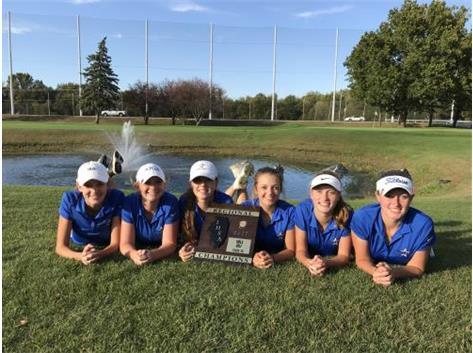 Congratulations to the Girls Varsity Golf Team on winning the Burlington Central Regional Championship