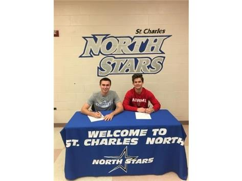 Congratulation to Sean Nemetz (Hillsdale College) and Steven Hamer (Miami of Ohio) on signing their NLI .
